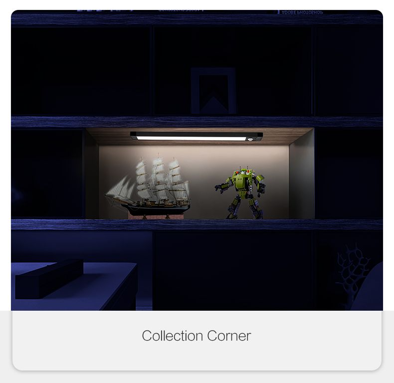 Xiaomi Intelligent Sensor Cabinet Night Light 4000k Magnetic Mounted Bar Screen (1)