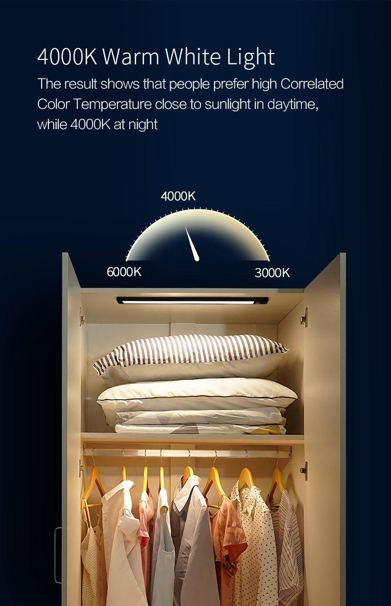 Xiaomi Intelligent Sensor Cabinet Night Light 4000k Magnetic Mounted Bar Screen (3)