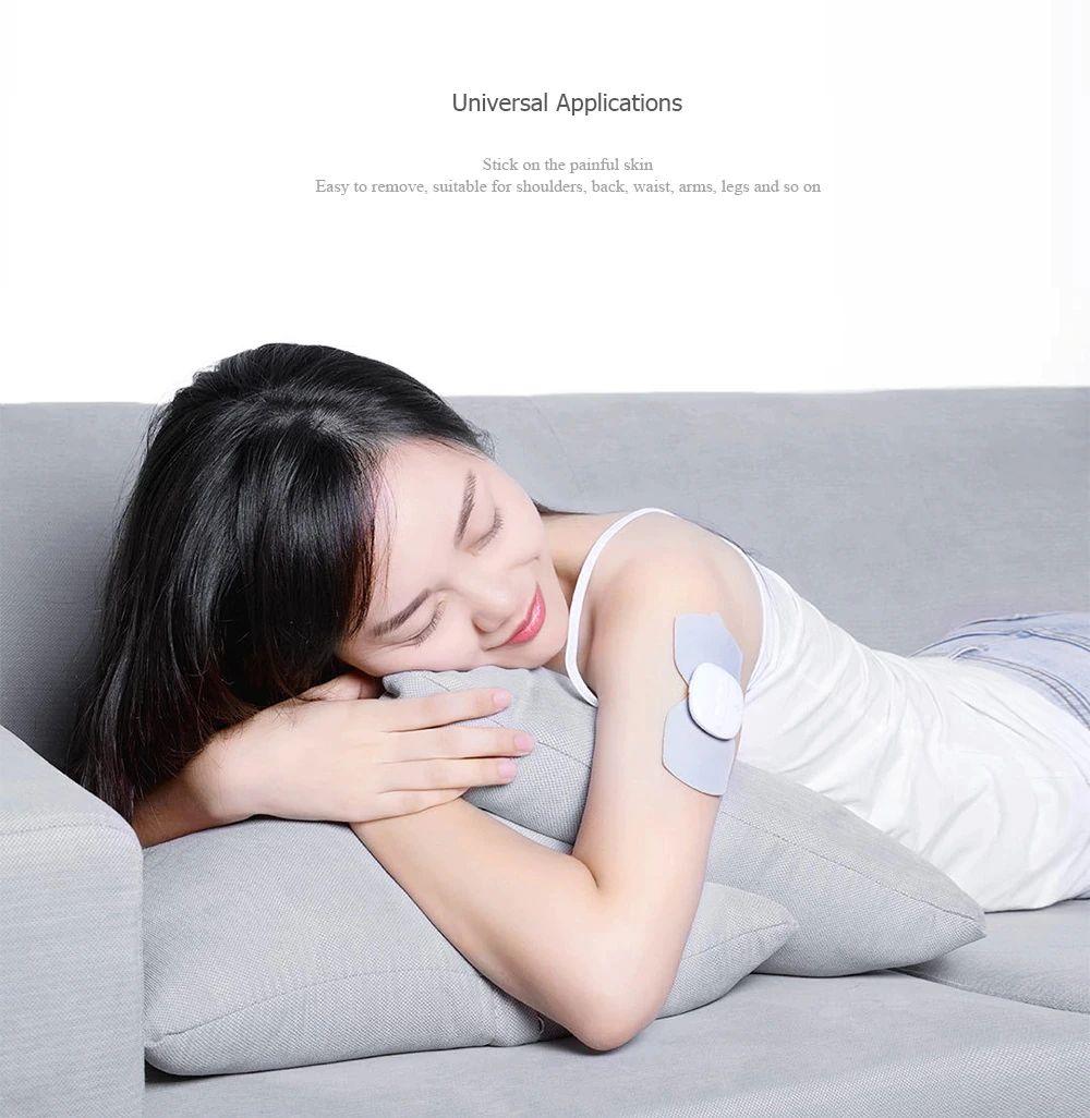 Xiaomi Magic Touch Sticker Massage Electric Muscle Stimulator Full Body Relax Neck Back Mas (