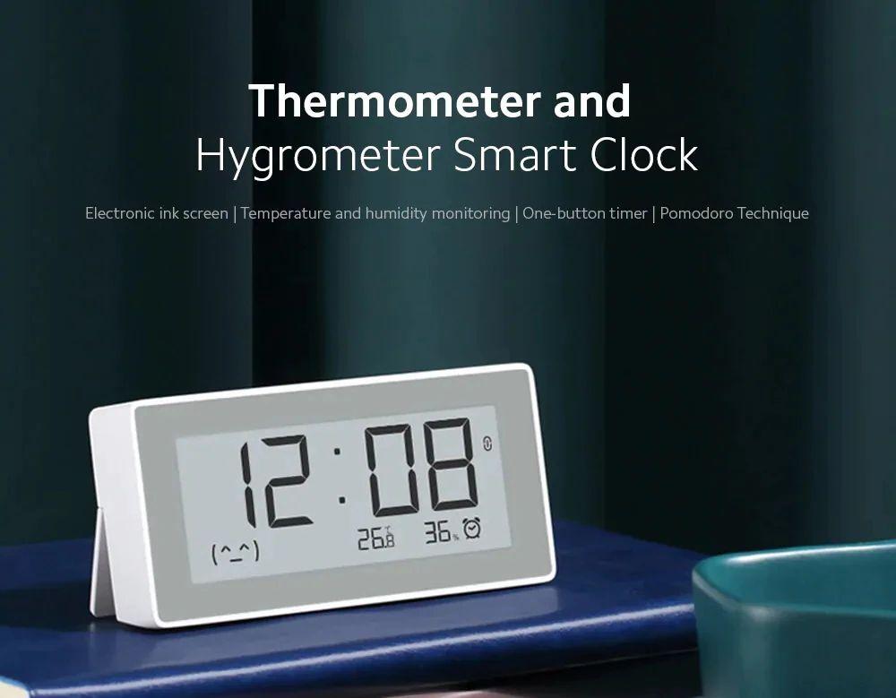Xiaomi Mijia Mmc Bt4 0 Smart Electric Digital Clock Thermometer (4)