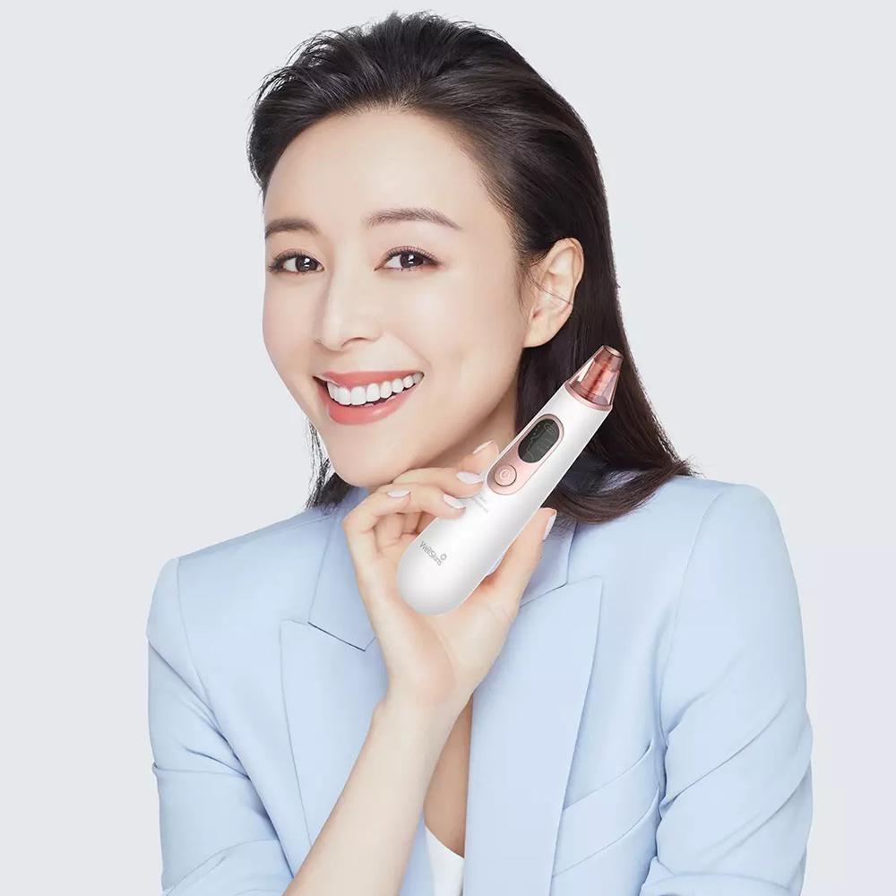 Xiaomi Wellskins Electric Blackhead Cleaner Deep Pore Cleanser Acne Pimple Remova (