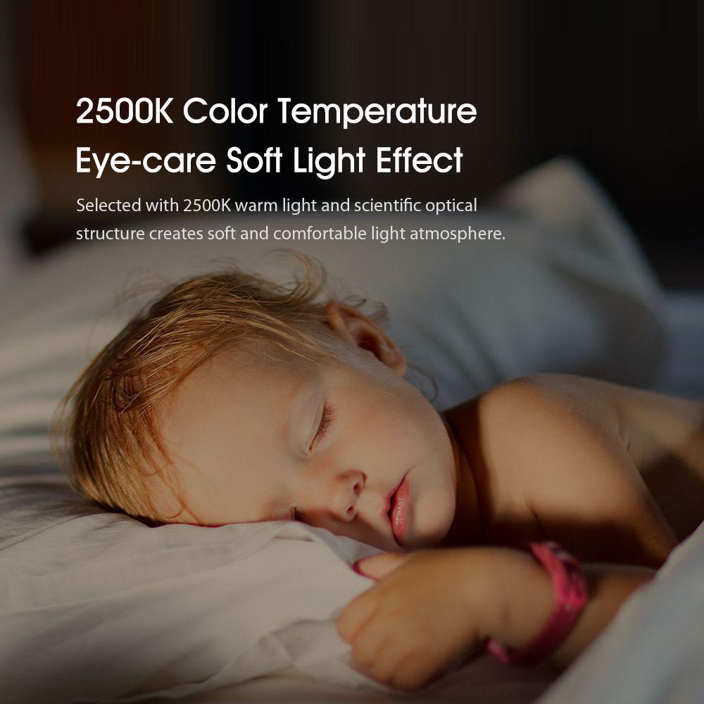 Xiaomi Yeelight Night Light Led Wall Plug In Lamp Controlled Infrared Motion Sensor (3)