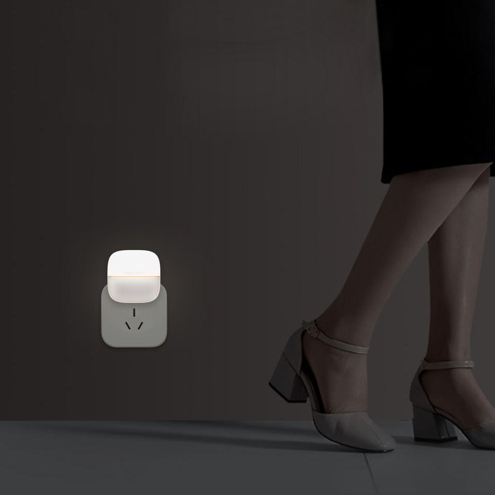 Xiaomi Yeelight Night Light Led Wall Plug In Lamp Controlled Infrared Motion Sensor (6)
