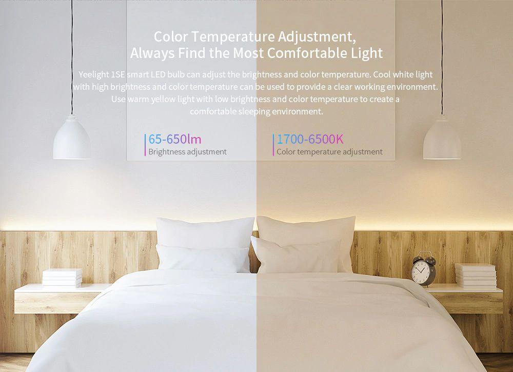 Xiaomi Yeelight Smart Led Bulb 1se Color Rgb Smart Bulb (2)