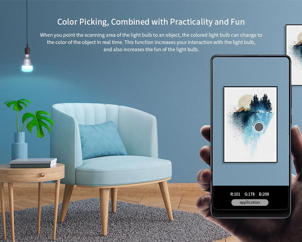Xiaomi Yeelight Smart Led Bulb 1se Color Rgb Smart Bulb (4)