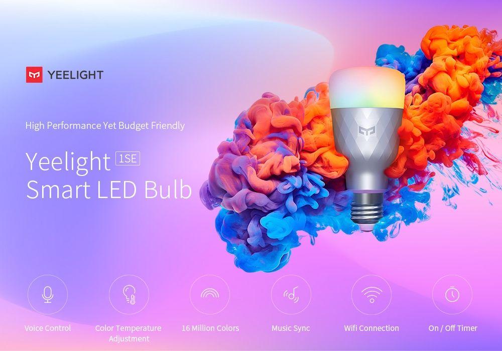 Xiaomi Yeelight Smart Led Bulb 1se Color Rgb Smart Bulb (5)
