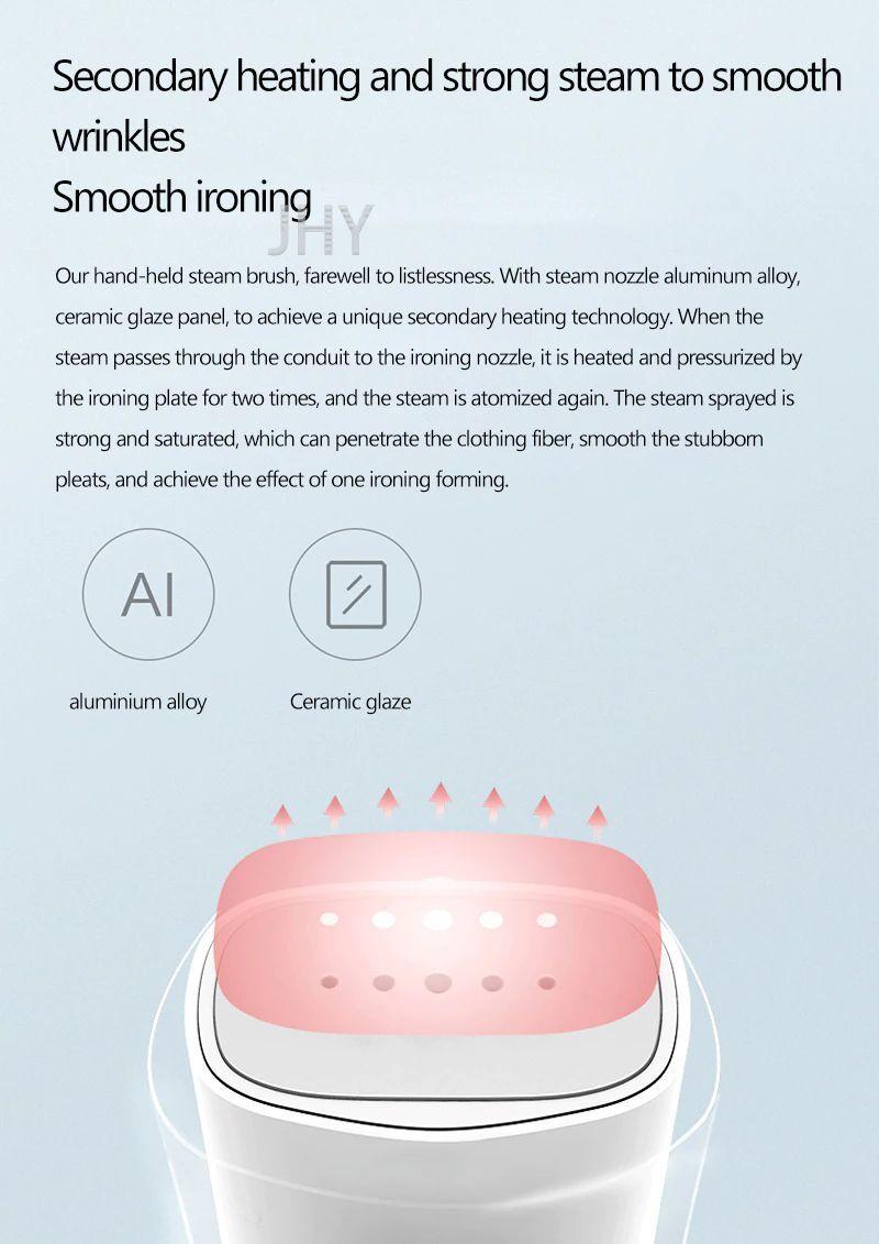 Xiaomi Zanjia Zj Gt 306lw Steamer Iron Mini Generator Travel Household Electric Garment Cleaner (4)