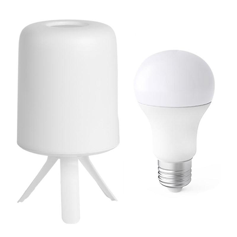 Xiaomi Zhirui Bedside Lamp Led Light E27 Bulb Desktop Light Hazy Design Atmosphere Light (2)