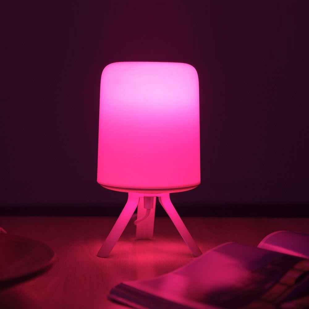 Xiaomi Zhirui Bedside Lamp Led Light E27 Bulb Desktop Light Hazy Design Atmosphere Light (4)
