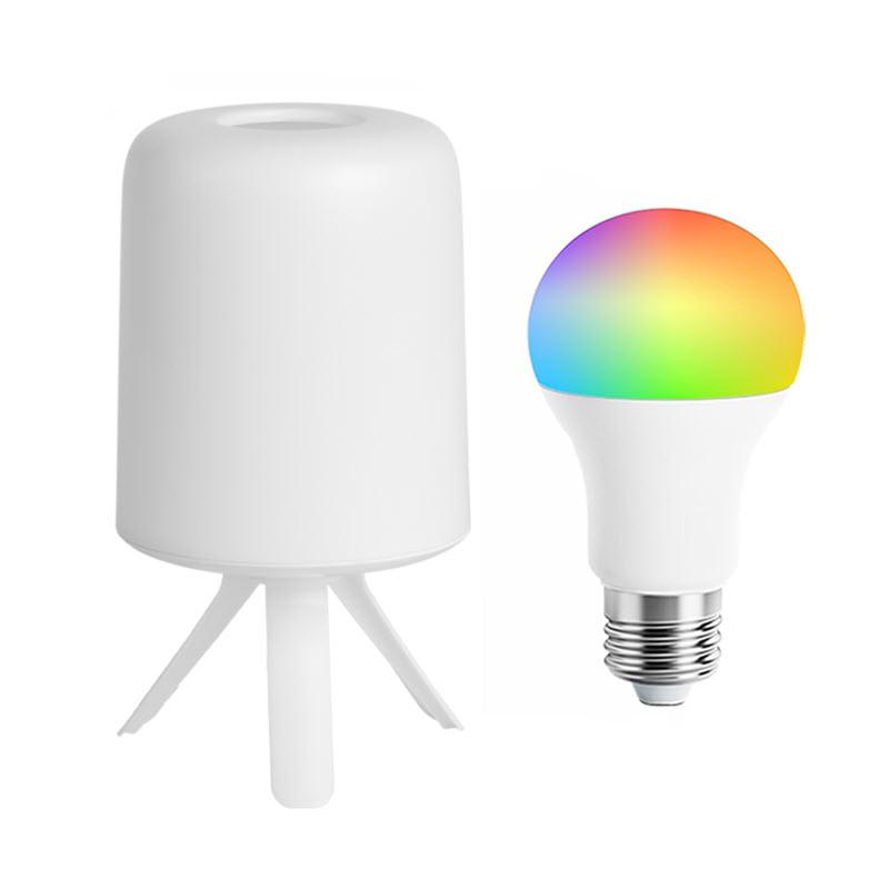 Xiaomi Zhirui Bedside Lamp Led Light E27 Bulb Desktop Light Hazy Design Atmosphere Light