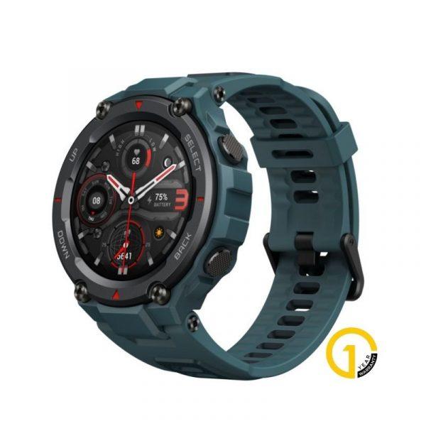 Amazfit T Rex Pro Smartwatch Fitness Watch With Spo2 Blue (1)