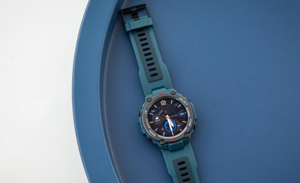 Amazfit T Rex Pro Smartwatch Fitness Watch With Spo2 Blue (2)
