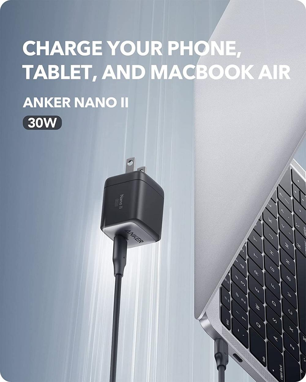 Anker Nano Ii 30w Gan Ii Usb C Fast Charger Adapter (3)