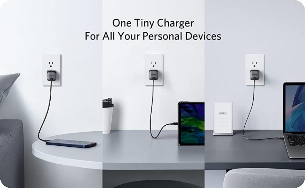 Anker Nano II 65W GaN II PPS USB C Fast Charger Adapter