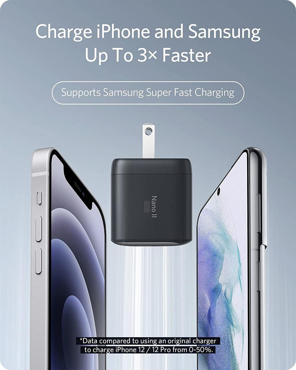 Anker Nano Ii 65w Gan Ii Pps Usb C Fast Charger Adapter (2)