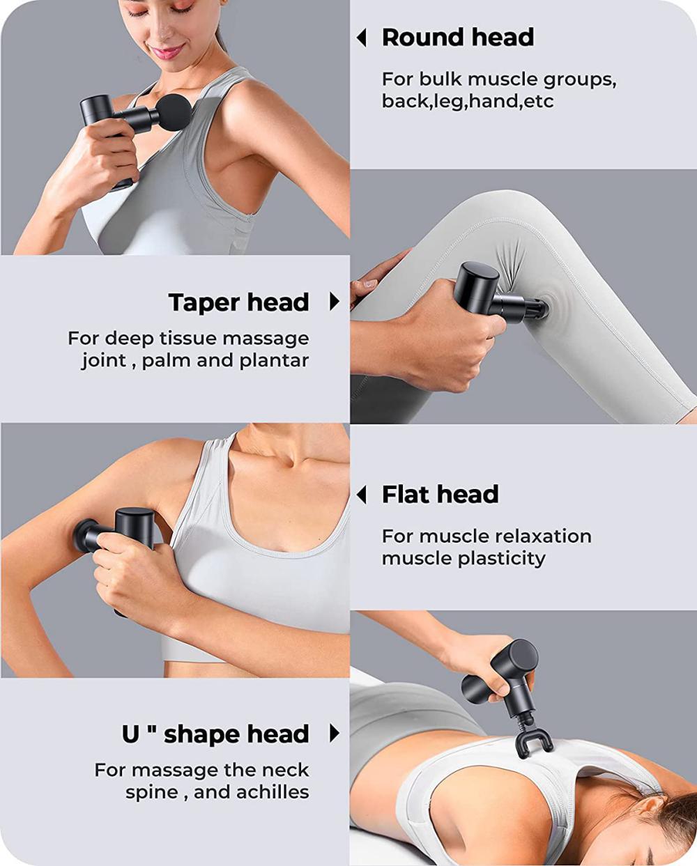 Astamaniana Mini Massage Gun Mini Size Muscle Massagers (3)