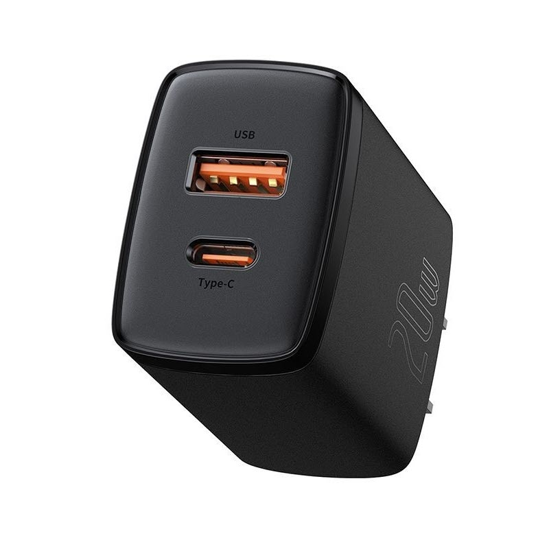 Baseus Ccxj 01 Compact Super Quick Charger Dual Port Uc 20w Cn (1)