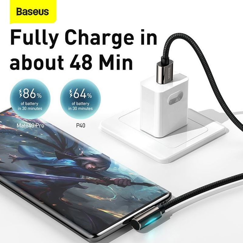 Baseus Legend Series Elbow 66w Usb To Type C Fast Charging Data Cable (4)