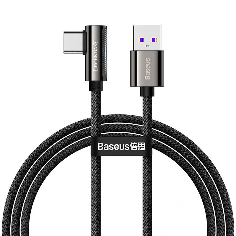 Baseus Legend Series Elbow 66w Usb To Type C Fast Charging Data Cable (7)