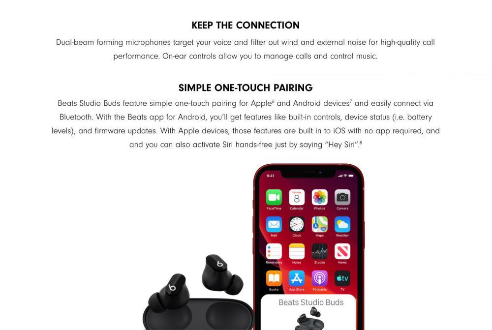Beats Studio Buds True Wireless Noise Cancelling Earbuds (5)