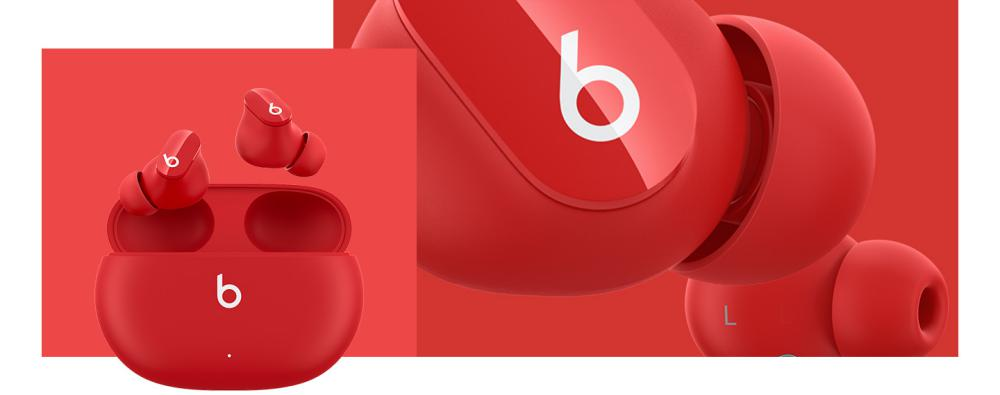 Beats Studio Buds True Wireless Noise Cancelling Earbuds Red (3)