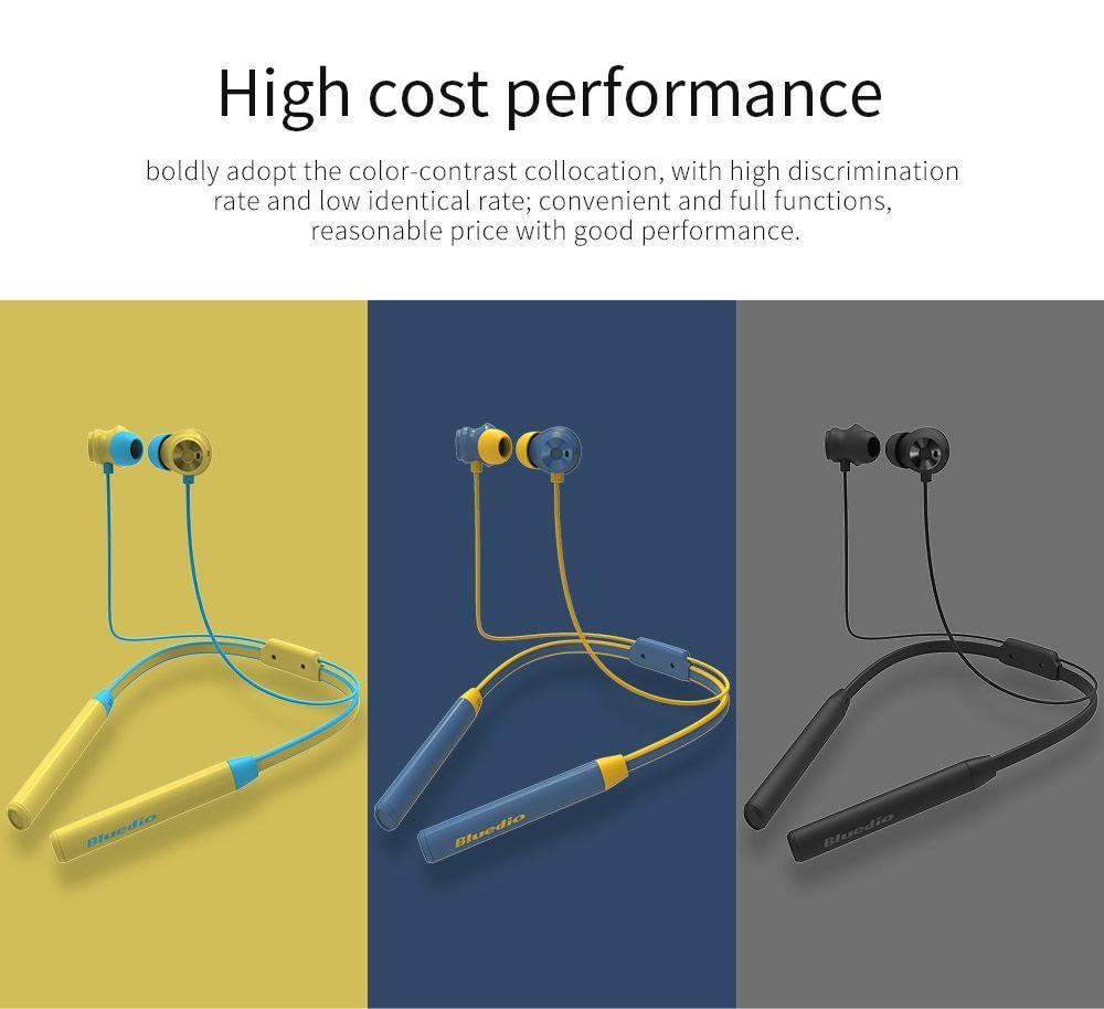 Bluedio Tn2 T Energy 2nd Gen Bluetooth Neckband Blue (1)