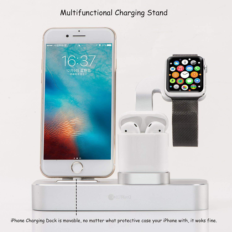 Coteetci 3 In 1 Multifunction Charging Stand (3)