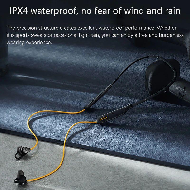 Iqoo Wireless Neckband Bluetooth Earphone (2)