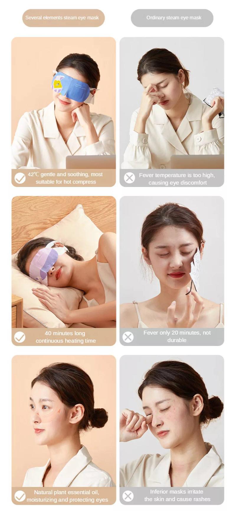 Jisulife Eye Steamer Face Moisturizer Steamer Skin Care