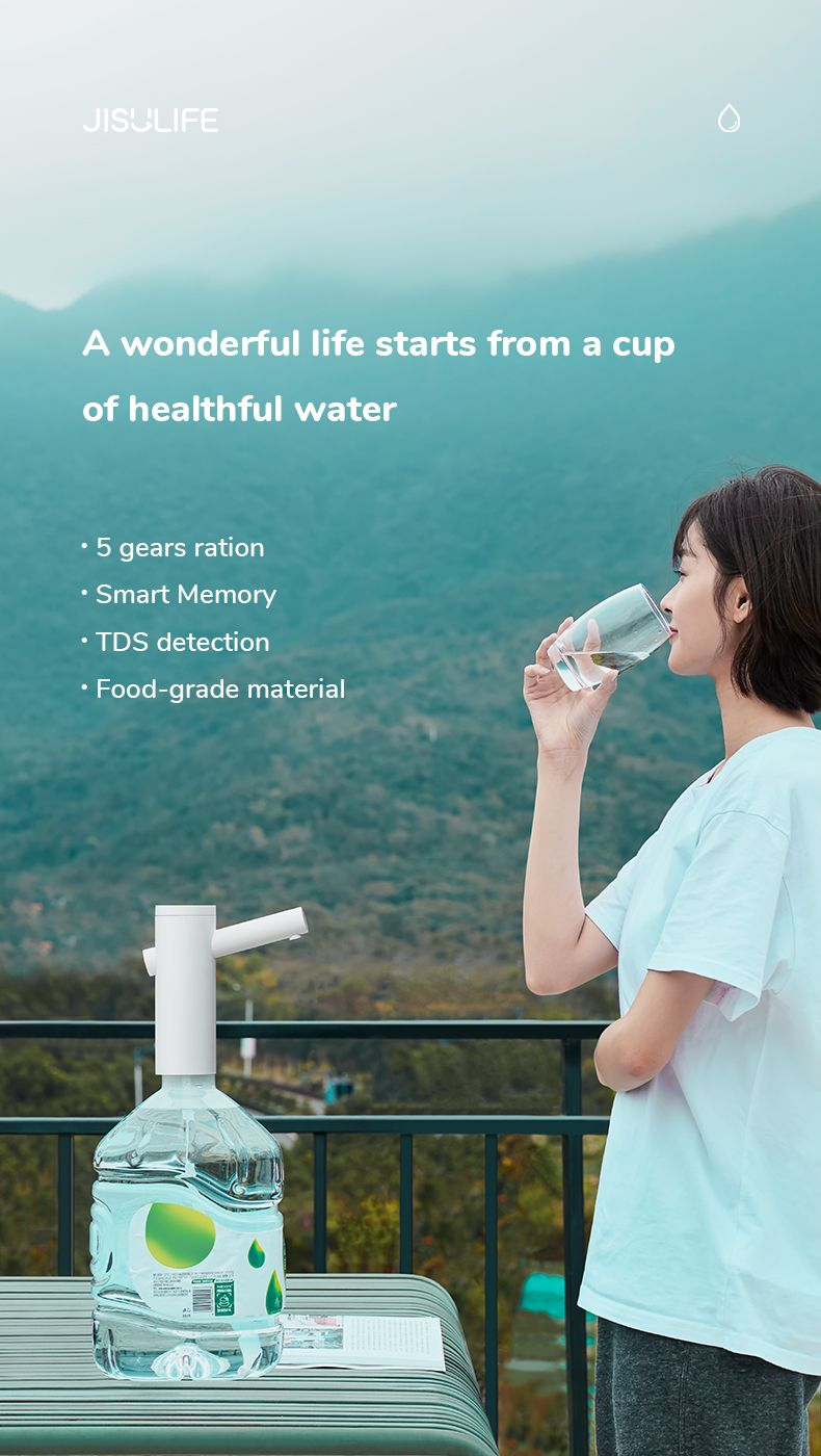 Jisulife Smart Hydrator Water Dispenser (5)