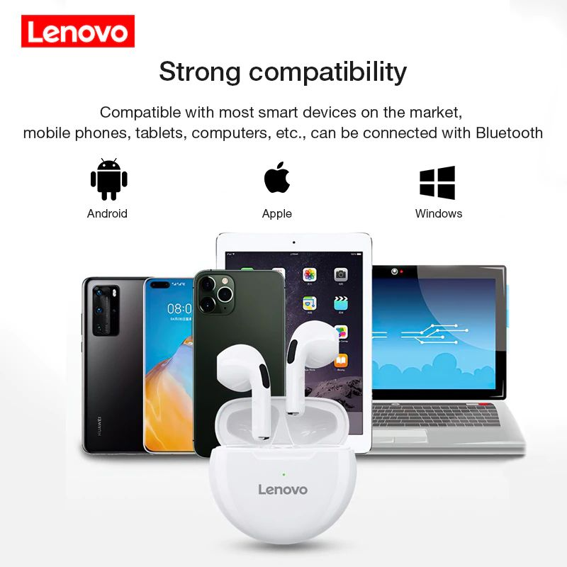 Lenovo Livepods Ht38 Tws Bluetooth Waterproof Wireless Earbuds (7)