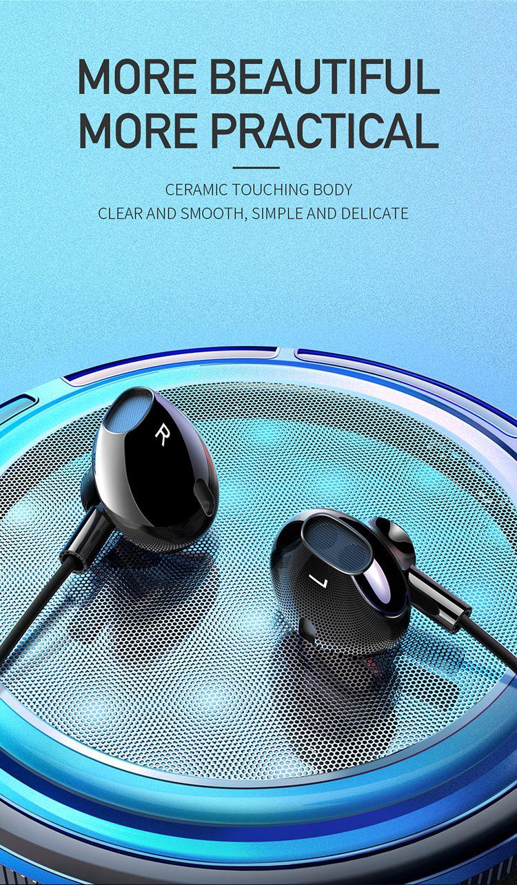 Mcdodo Hp 6120 Achievement Series Lightning Earphone Support Call Volume Control (5)