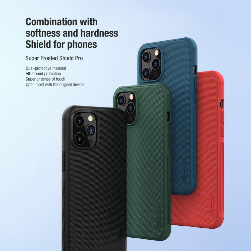 Nillkin Super Frosted Shield Pro Matte Cover Case for iPhone 12/iPhone 12 Pro