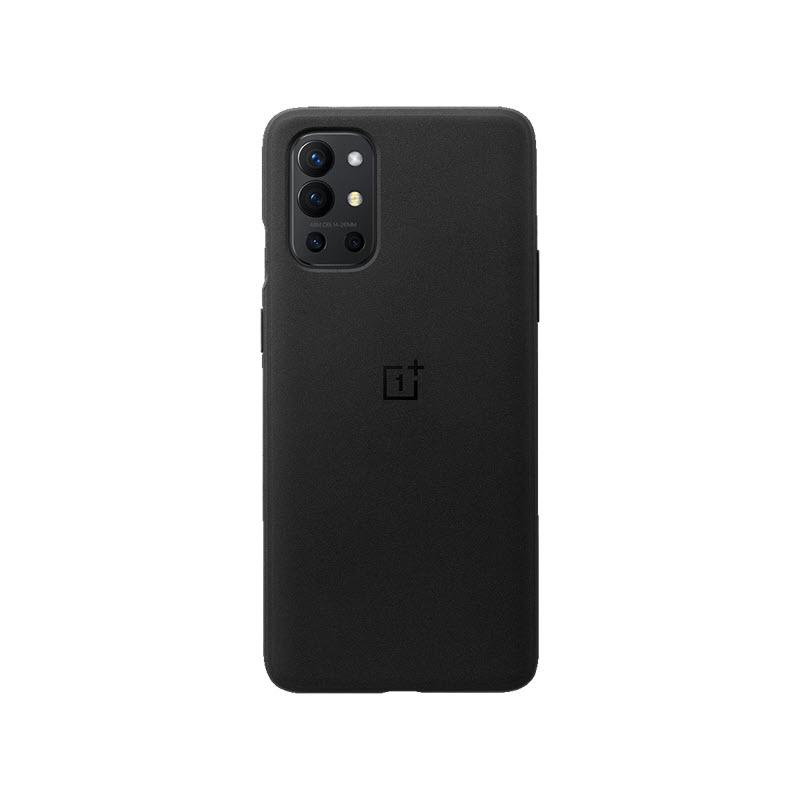 Oneplus 9r Sandstone Bumper Case Black (1)