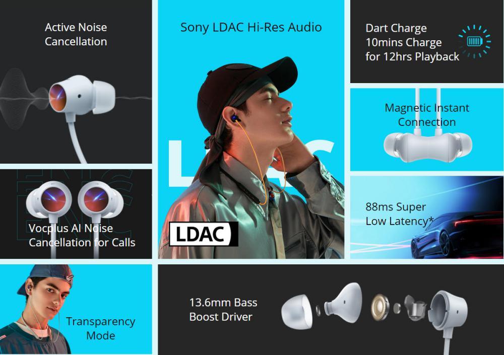 Realme Buds Wireless 2 Bluetooth Earphone With Mic (1)