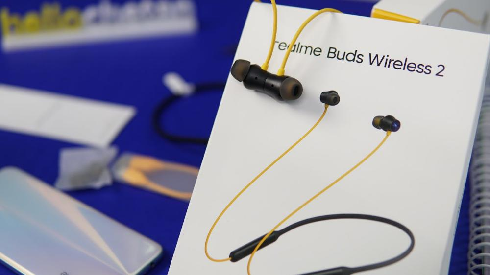 Realme Buds Wireless 2 Bluetooth Earphone With Mic (4)