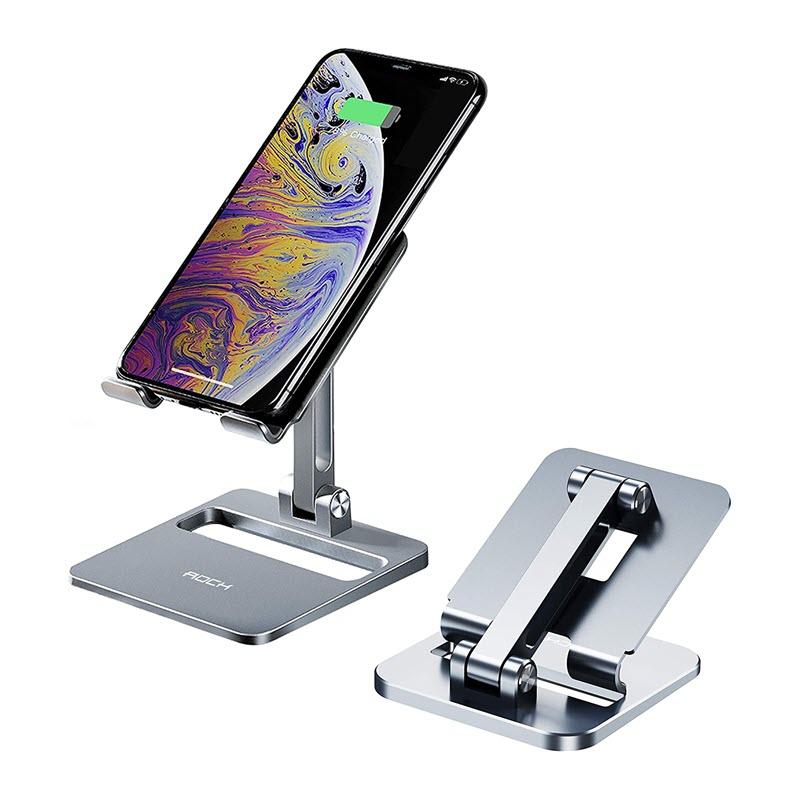 Rock Adjustable Desktop Phone And Tablet Stand (1)