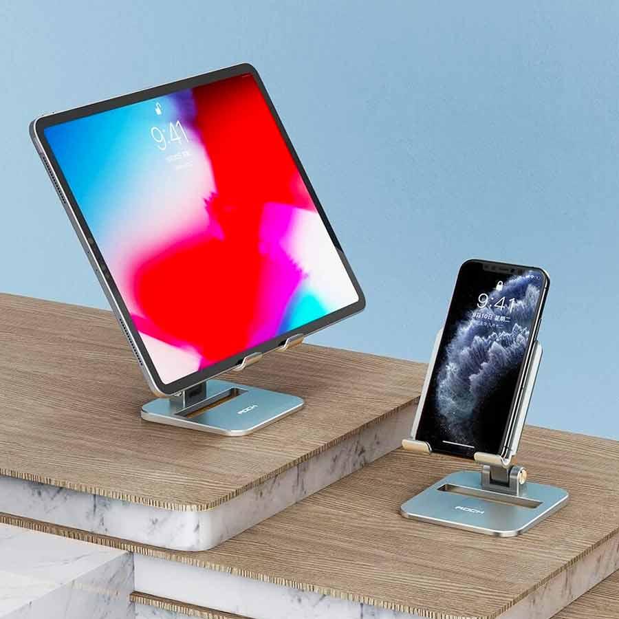 Rock Adjustable Desktop Phone And Tablet Stand (4)