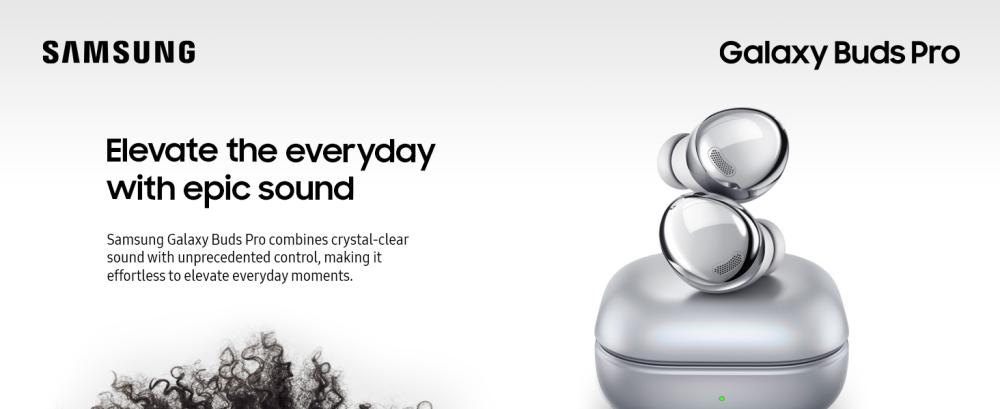 Samsung Galaxy Buds Pro True Wireless Earbuds Silver (2)