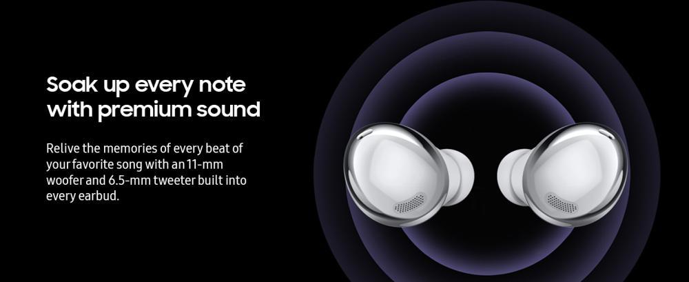 Samsung Galaxy Buds Pro True Wireless Earbuds Silver (5)