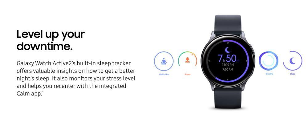 Samsung Galaxy Watch Active2 Aqua Black (1)