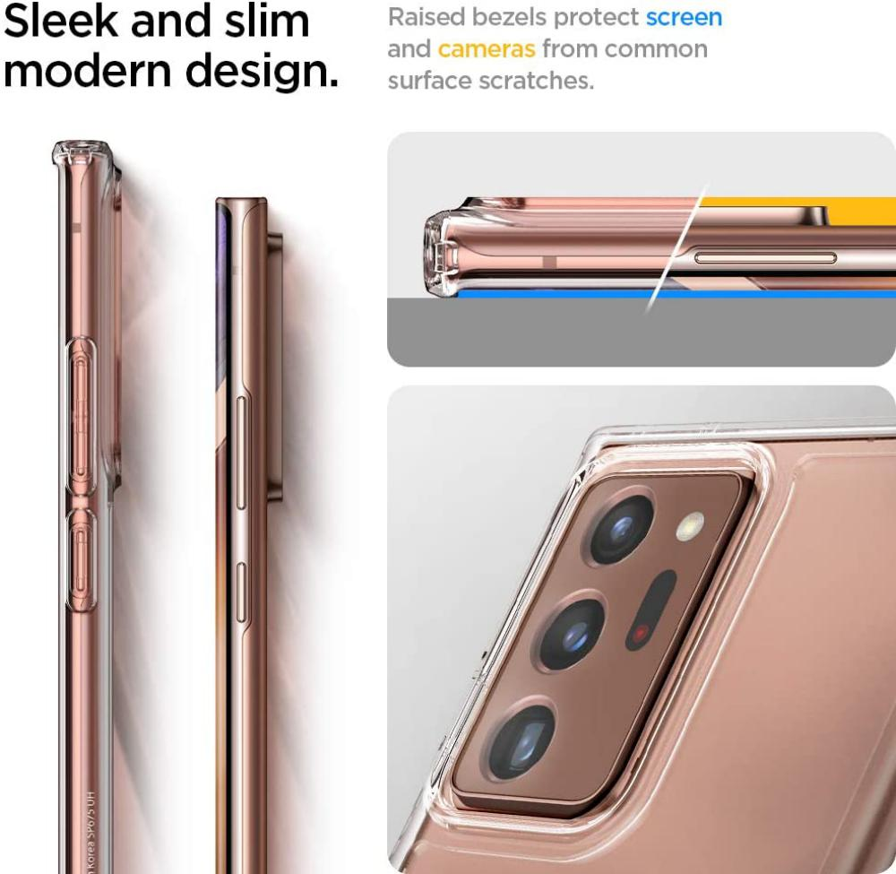 Spigen Ultra Hybrid Case For Samsung Note 20 Ultra (2)