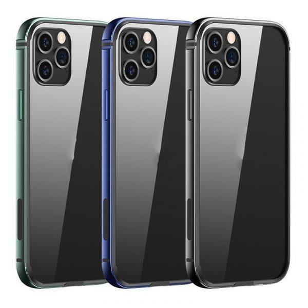 Usams Aluminum Alloy Tpu Bumper Case For Iphone 12 Mini 12 12 Pro 12 Pro Max (1)