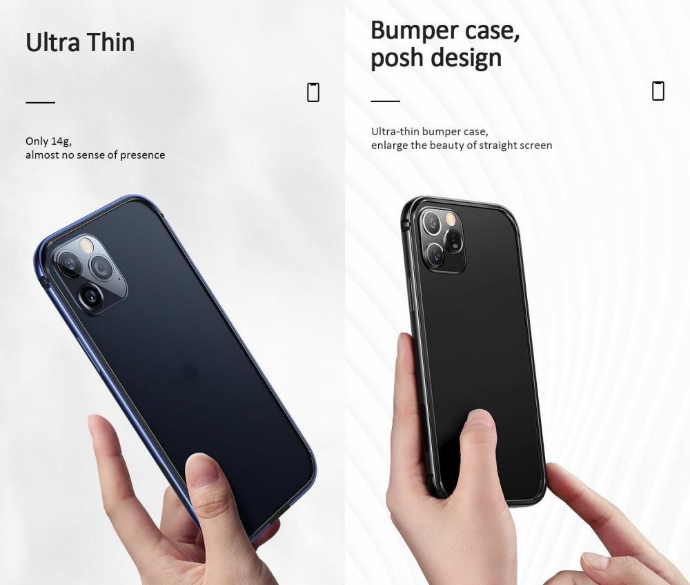 Usams Aluminum Alloy Tpu Bumper Case For Iphone 12 Mini 12 12 Pro 12 Pro Max (3)