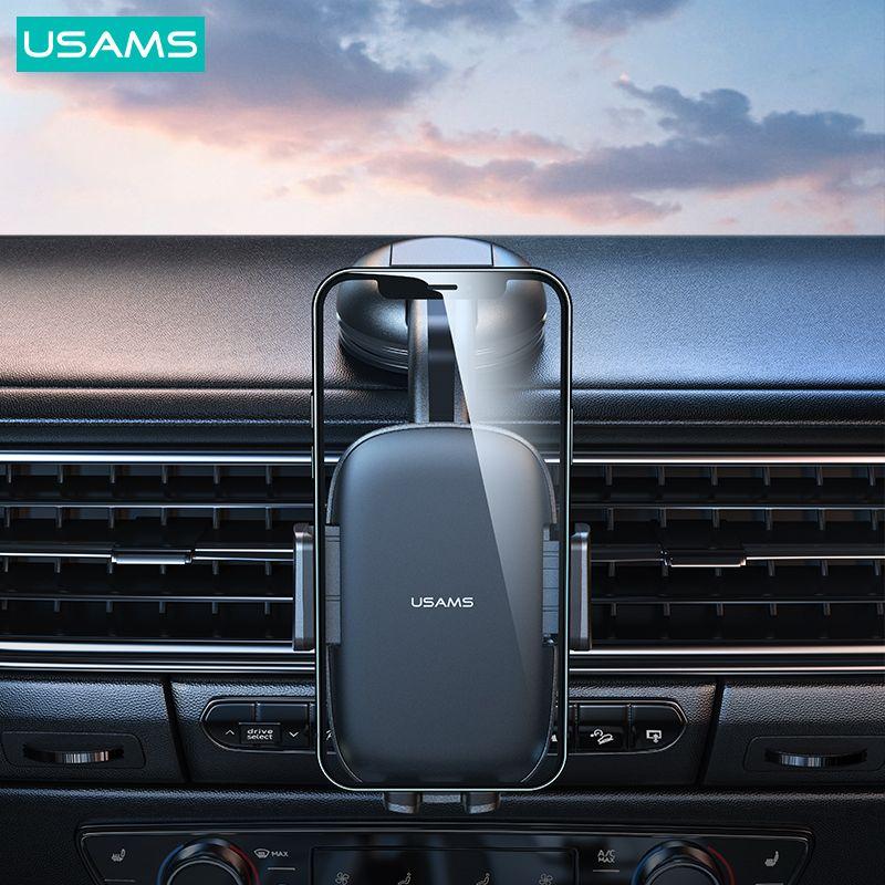 Usams Us Zj063 Car Center Console Retractable Phone Holder (2)