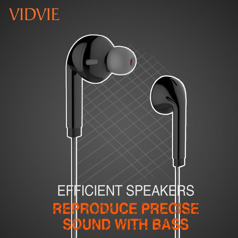 Vidvie Hs619 Wired Earphone (2)