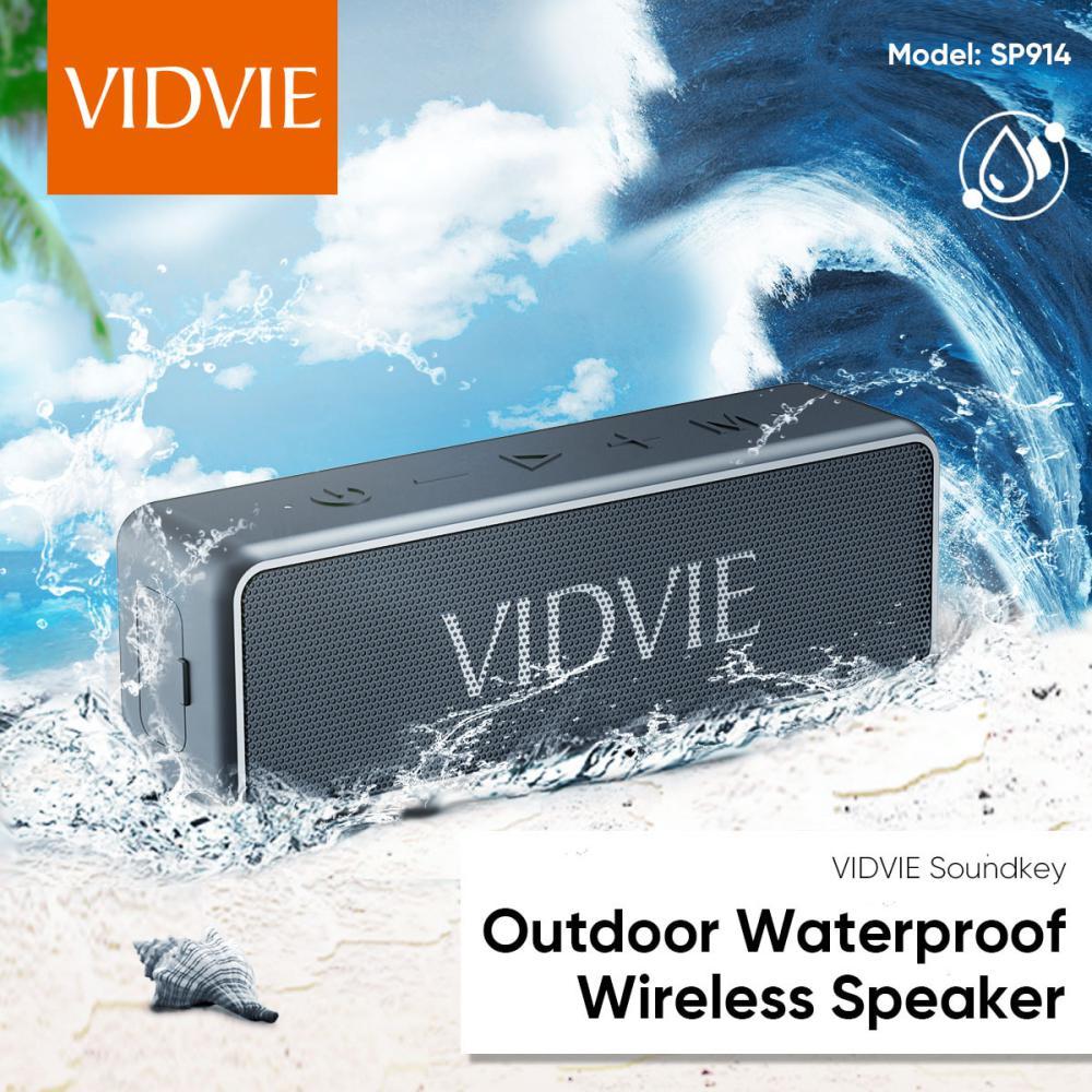 Vidvie Wireless Speaker 20w Sp914 Ipx 7 Tws Connect Tf Card Slot (5)