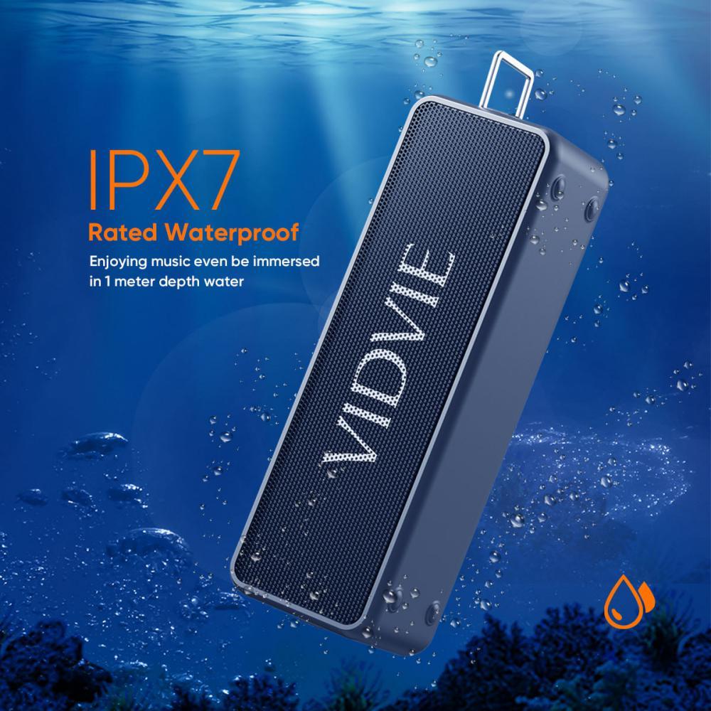 Vidvie Wireless Speaker 20w Sp914 Ipx 7 Tws Connect Tf Card Slot (6)