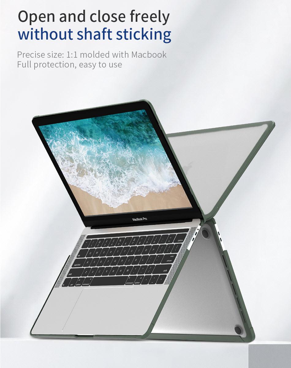 Wiwu Ishield Tpu Frame Pc Protect Case For Macbook (1)