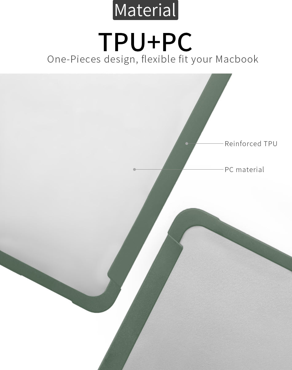 Wiwu Ishield Tpu Frame Pc Protect Case For Macbook (3)